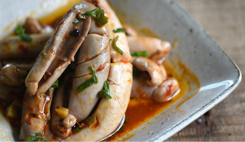 辣豆瓣燒魚膘