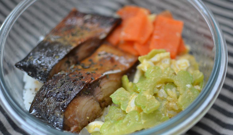 紹興醬燒鯖魚
