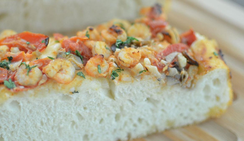 海味金勾蝦菇菇麵包