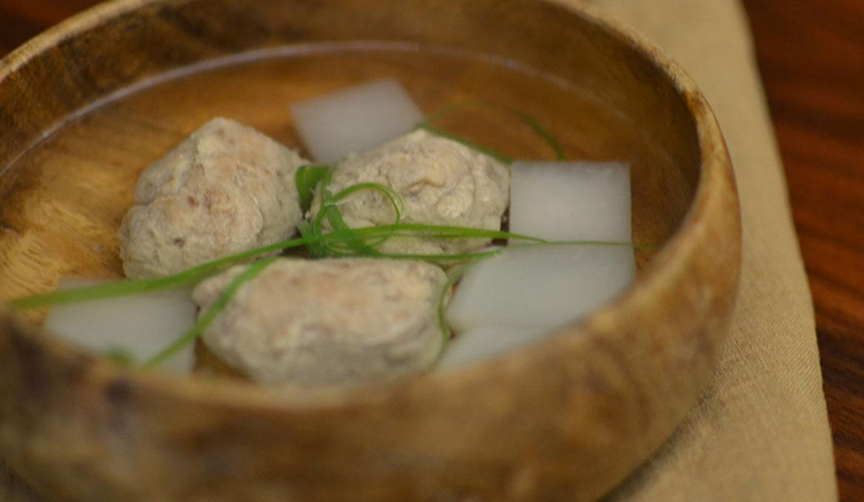 鯖魚丸子蘿蔔湯