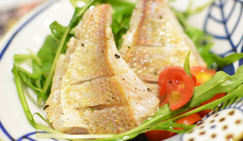 赤鯮魚水菜沙拉