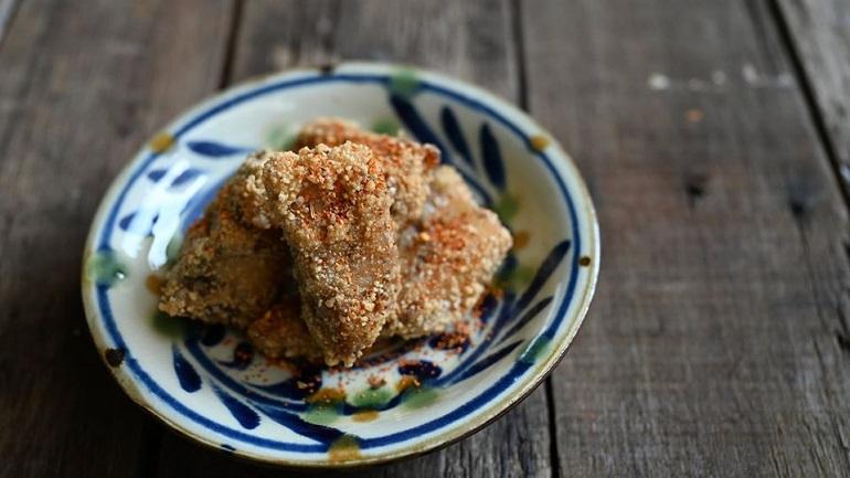 鹹酥馬加魚肉骨