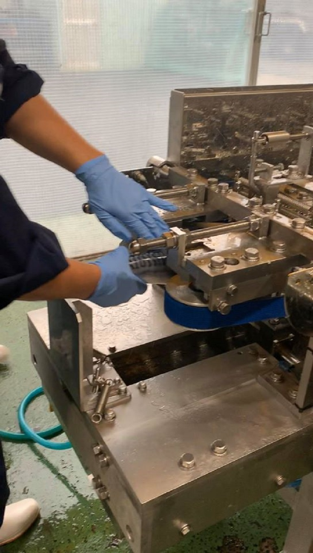 日本製造去刺機器的工廠