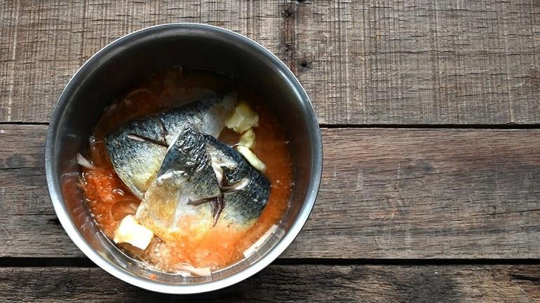 鯖魚牛蒡奶油炊飯