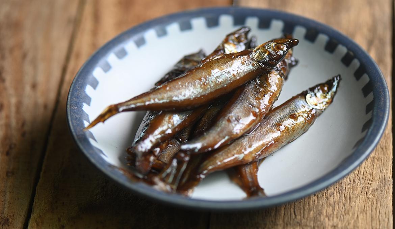 甘露煮柳葉魚