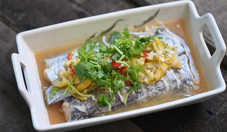 酸辣檸檬清蒸白帶魚