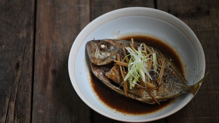 紅燒白魽魚