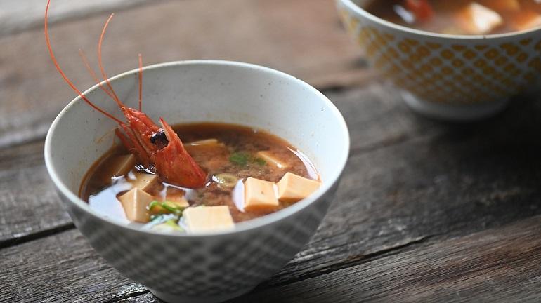 蝦頭味噌湯