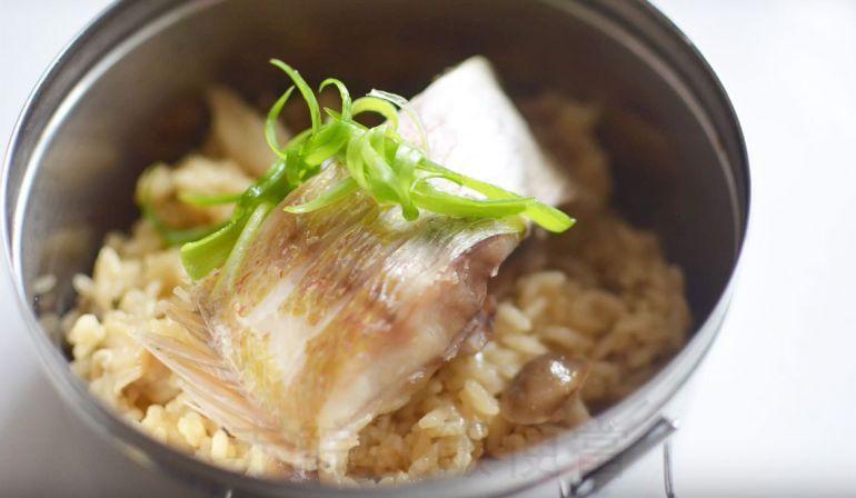 影音—赤鯮魚炊飯(可帶便當)