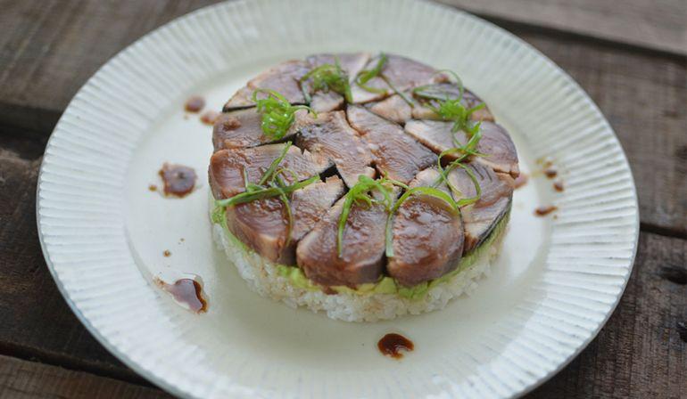 煙仔虎魚壽司丼飯
