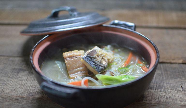 鯖魚米粉湯
