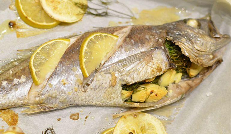 茴香烤黑喉魚