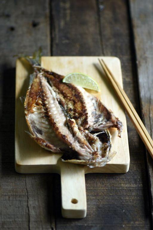 竹莢魚(無鹽漬)※非ㄧ夜干