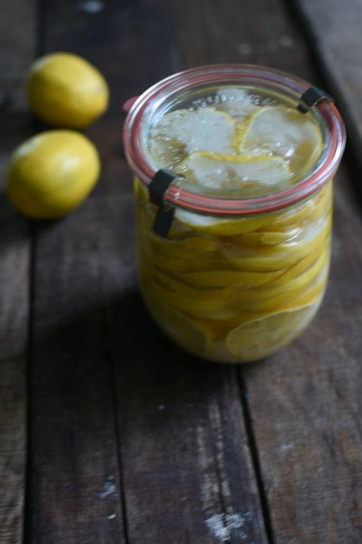 鹽漬梅爾檸檬