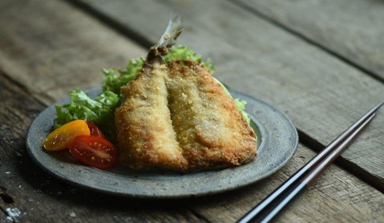 酥炸竹筴魚
