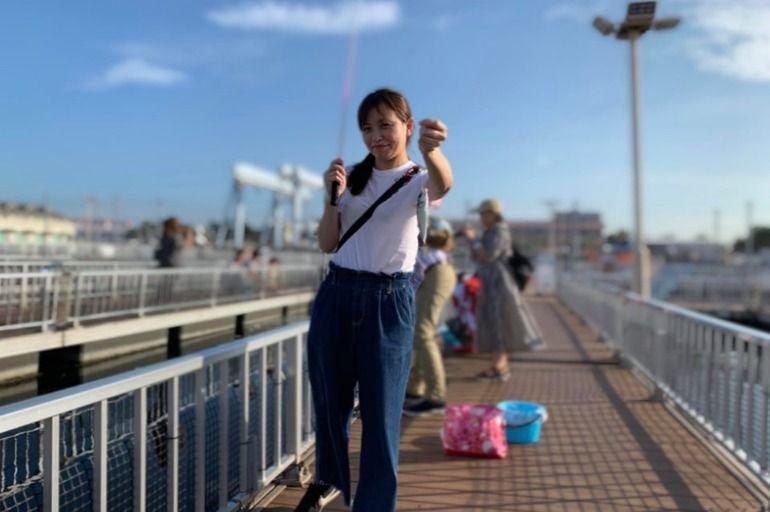 跑來日本釣魚