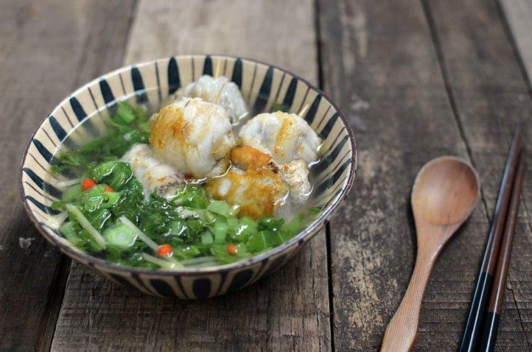 白帶魚卷湯