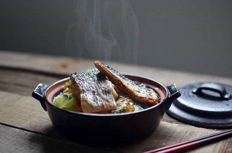 白北魚香米粉湯