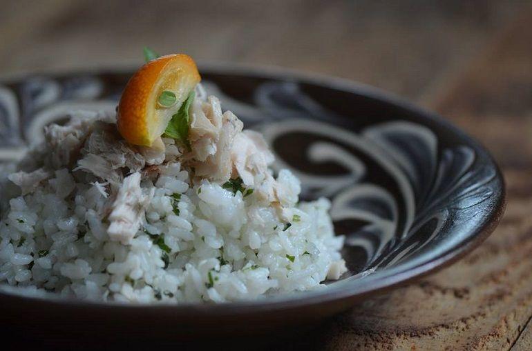 羅勒魚肉香拌飯