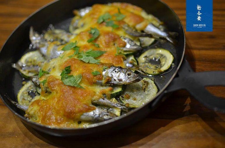 焗烤起司柳葉魚