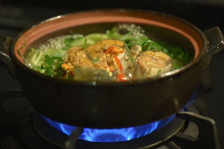 鯖魚罐頭火鍋