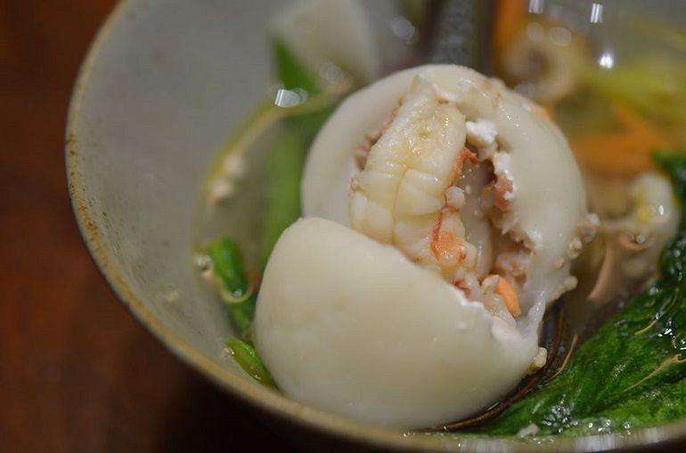 明蝦鮮肉湯圓