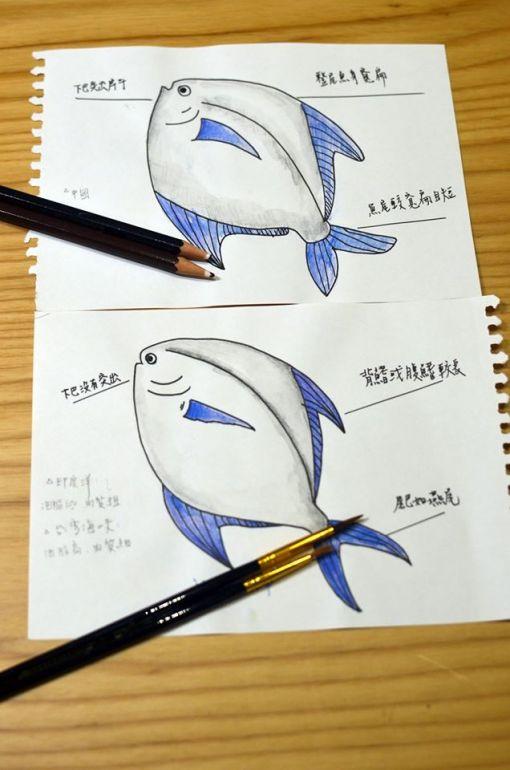 白鯧魚學堂