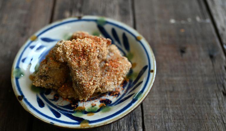 鹹酥馬加魚(土魠)