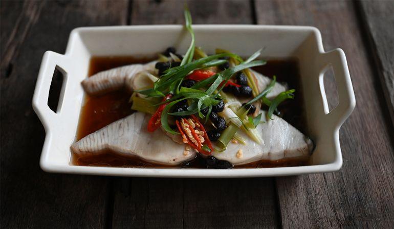 清蒸馬加魚(土魠)