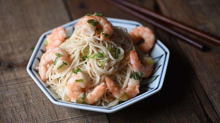 蝦蝦麻油麵線
