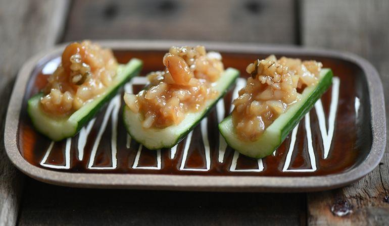 干貝味增小黃瓜