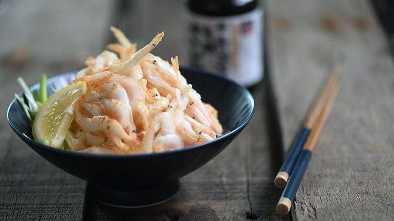 富山白蝦天婦羅