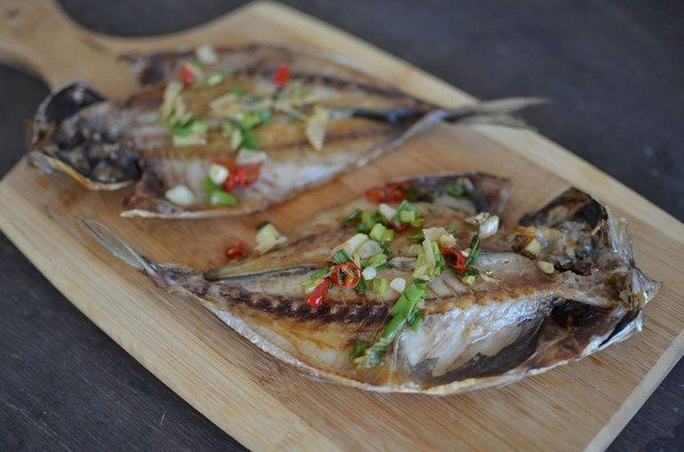 招牌『煎竹莢魚』
