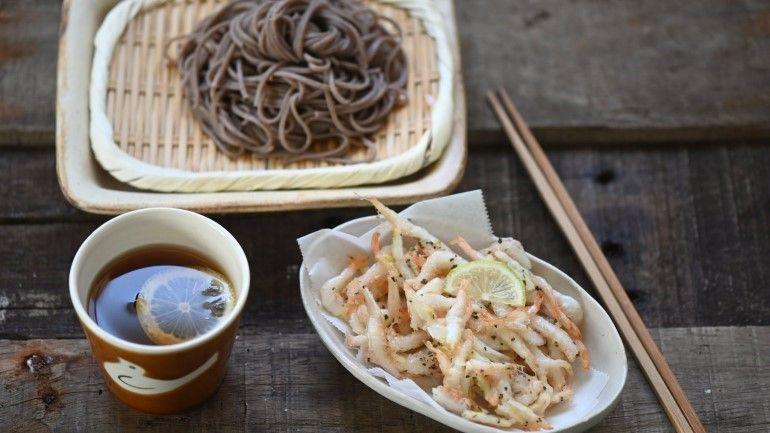 寶石蝦蕎麥麵
