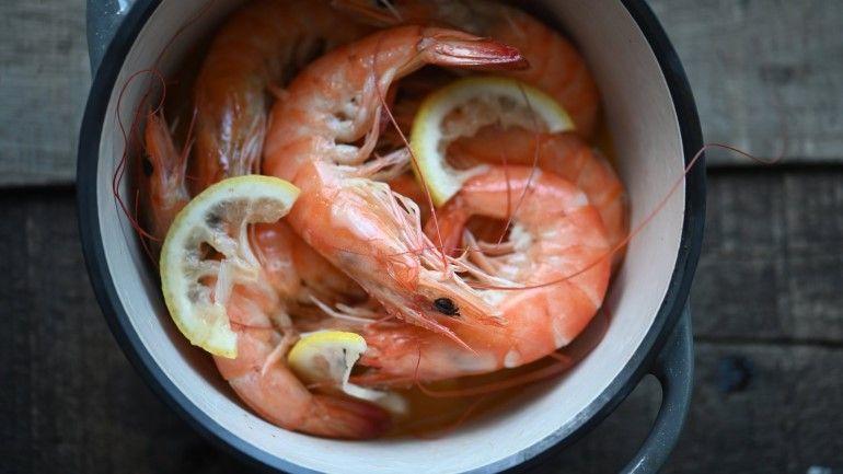 五分鐘無水奶油檸檬蝦
