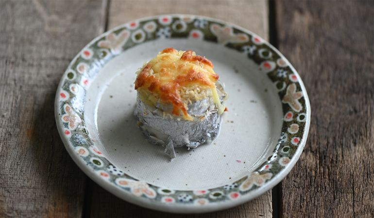 香烤起司白帶魚卷