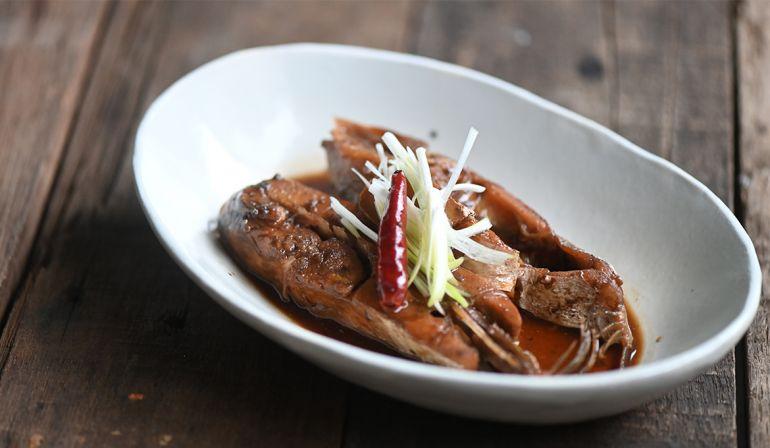 醬油燒剝皮魚