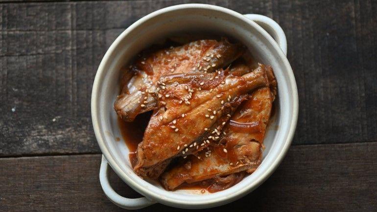 辣味噌燉煮剝皮魚