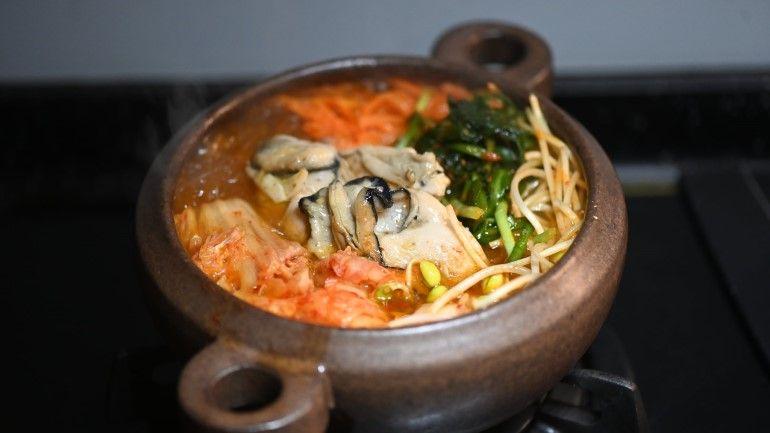 來個韓式牡蠣鍋