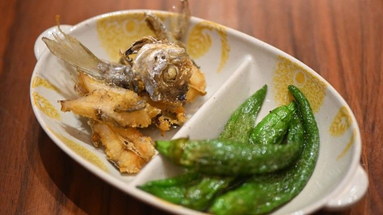 炸肉魚&青龍椒