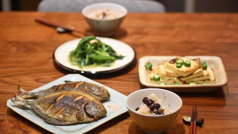 香煎黑鯧魚