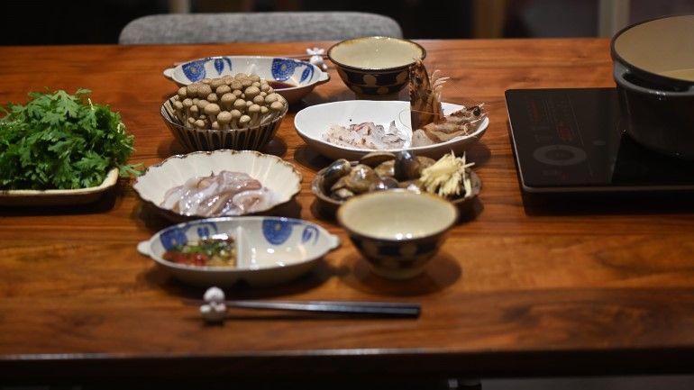 大明蝦火鍋