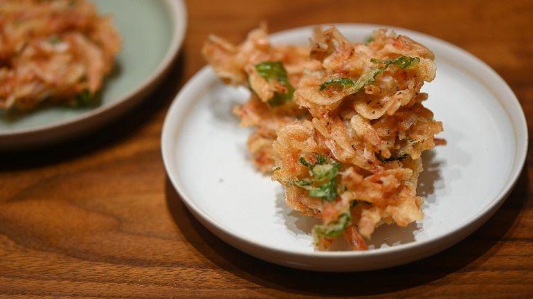 櫻花蝦乾天婦羅