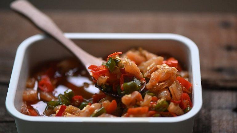 是小菜也是辣椒醬