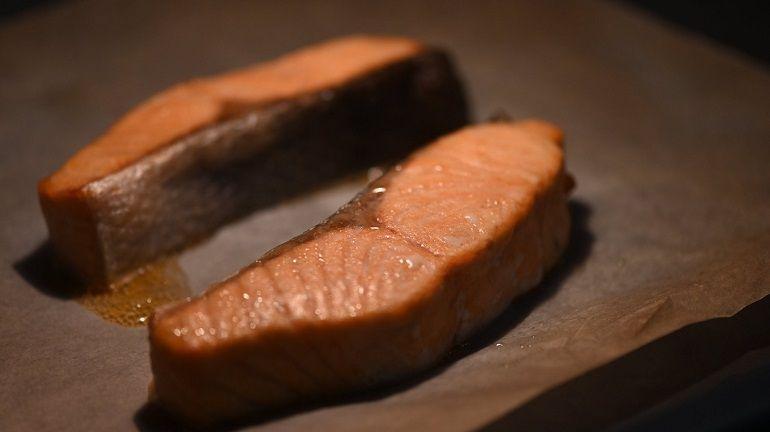 烤鮭魚菲力魚排
