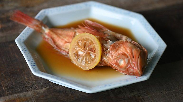 日式檸檬煮魚