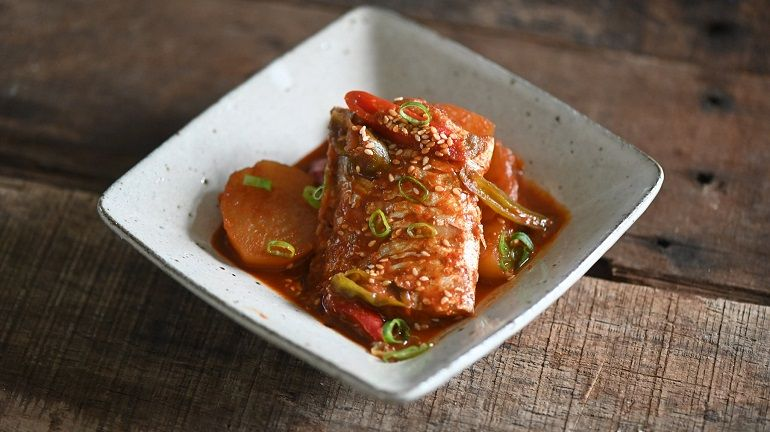 濟州島辣燉白帶魚