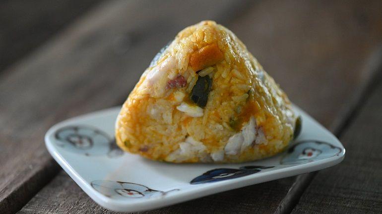 南瓜赤鯮魚炊飯